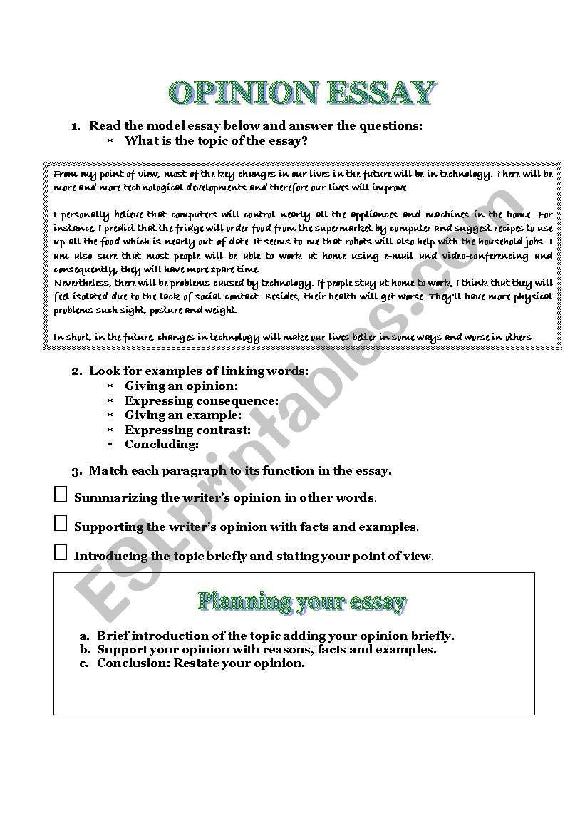 024 Opinion Essay Examples Example 210824 1 How To Write A Good Staggering Format Pdf Free Ielts Full