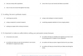 024 Persuasive Essay Example Quiz Worksheet Writing And Using Formidable A Outline Of On Gun Control