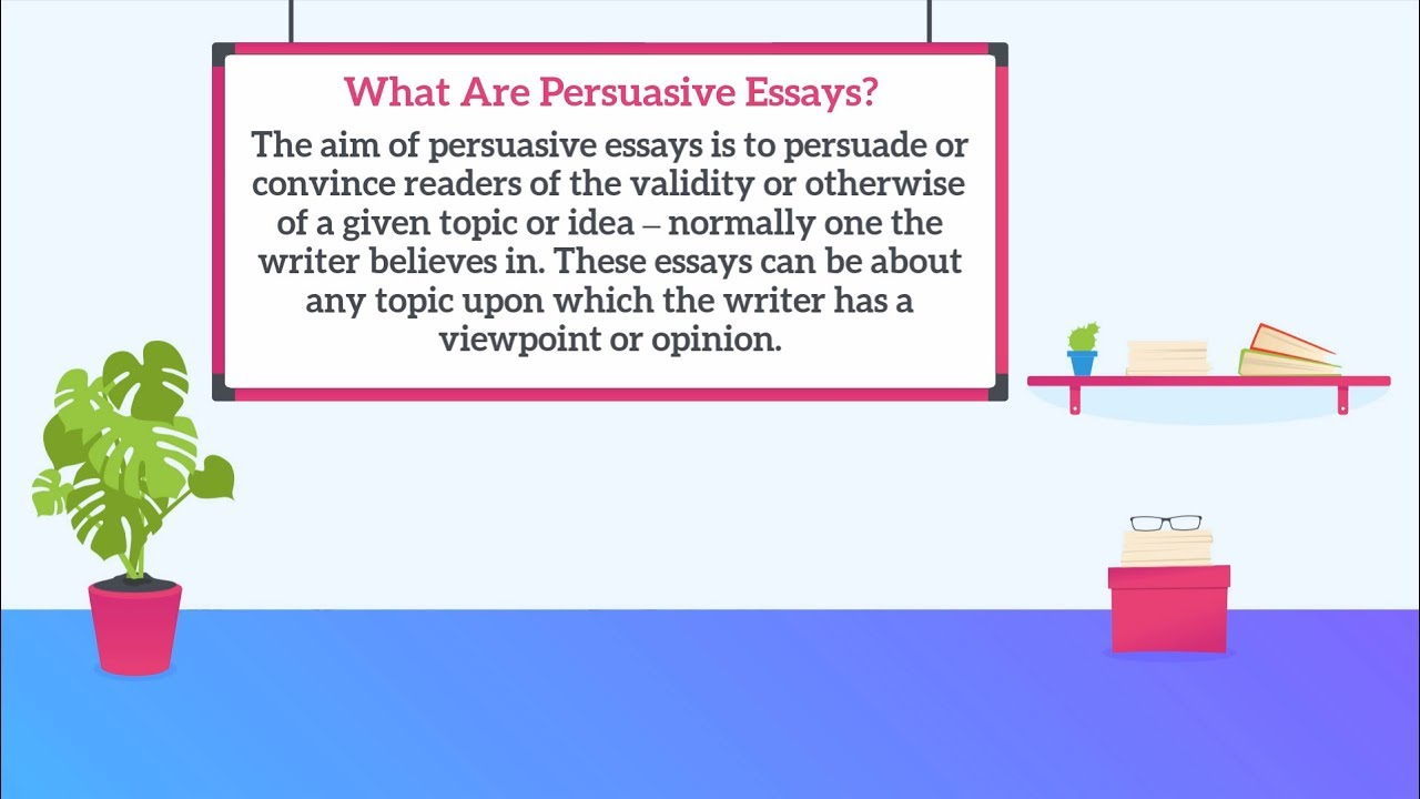 024 Persuasive Essay Structure Example Outstanding Nat 5 Pdf Full