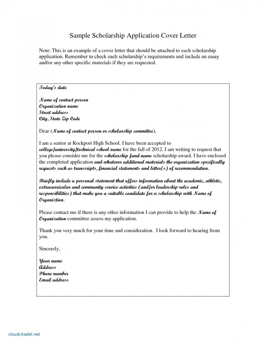 024 Sample Essay For Financial Need Scholarship Example Examples Best Application Letter Of Unforgettable
