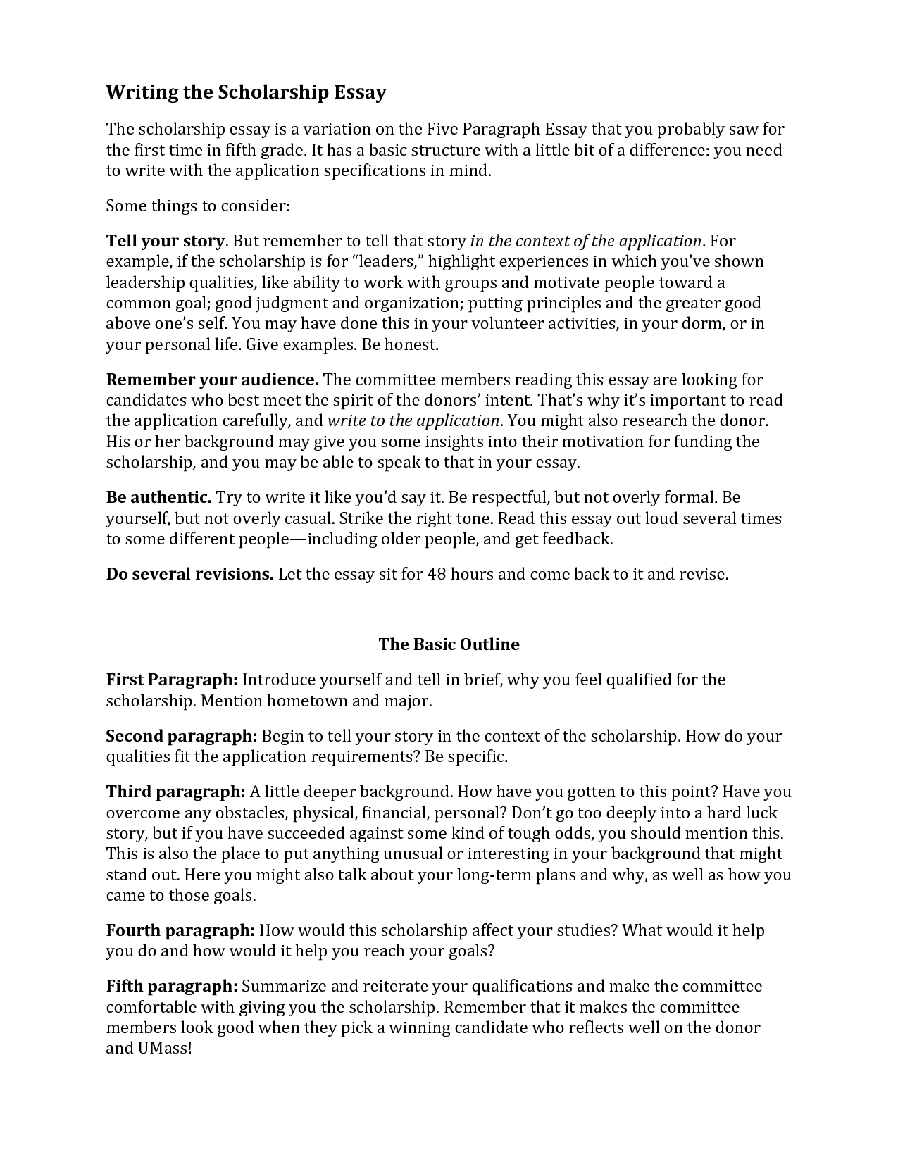 024 Scholarship Essay Template Example Cover Letter Of For Beauteous How To Write Stunning Structure Format Examples Guidelines Full