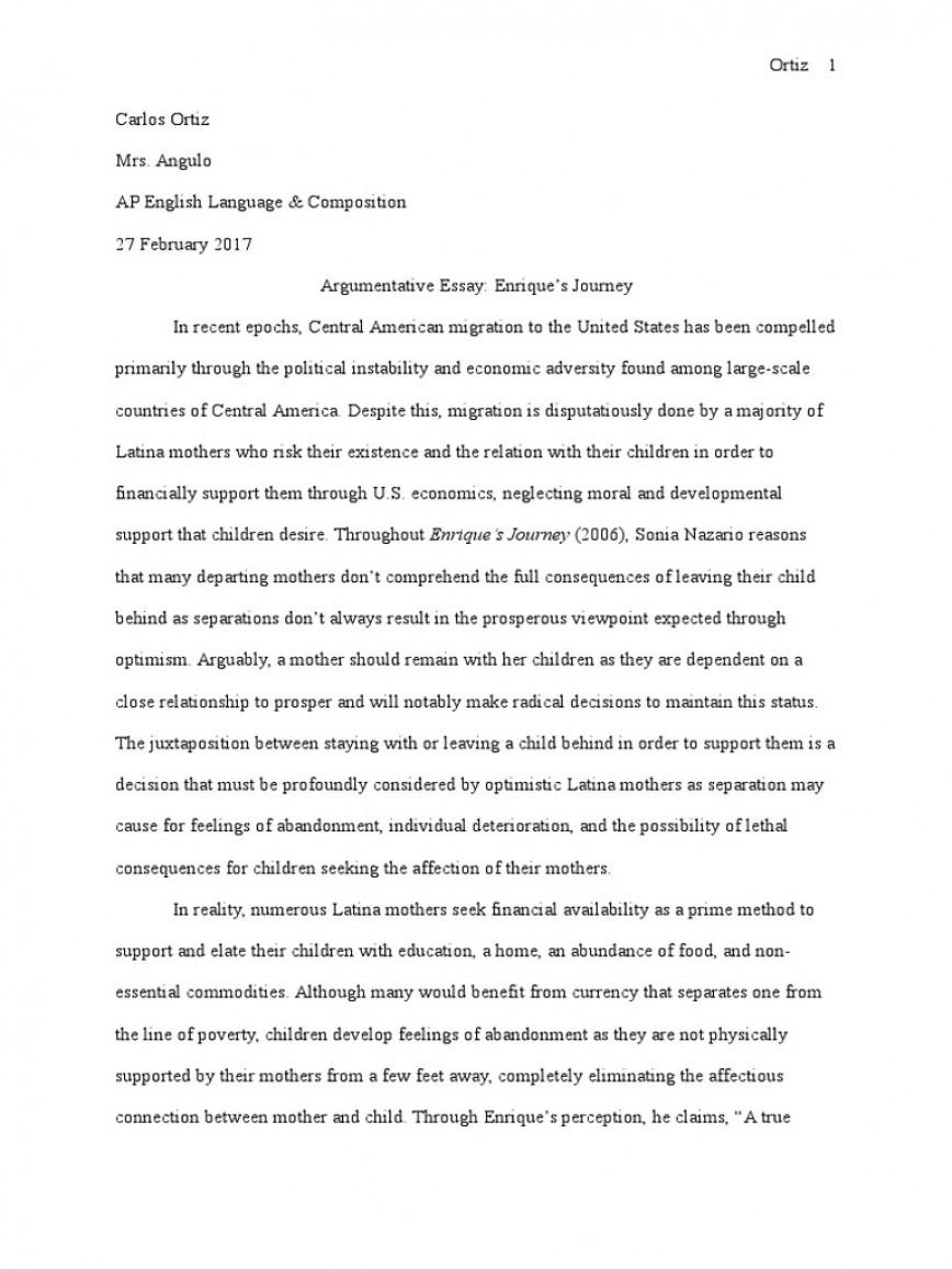 025 Argumentative Essay Enriques Journey Adolescence Substance Abuse On Social Media Pdf Unique Short Sample Outline Quiz