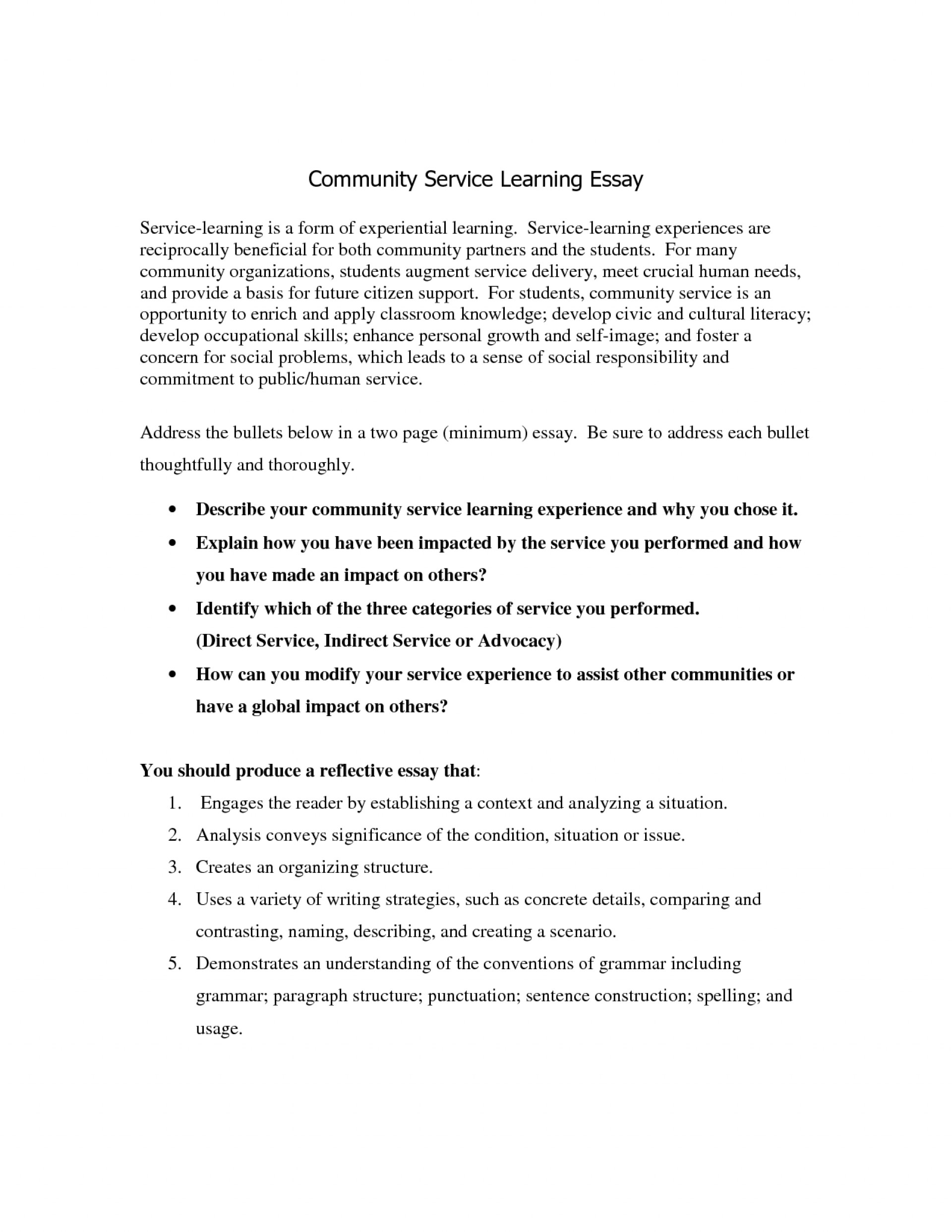 025 Collection Of Solutions Munity Service Essay Singyourlovestory Wonderful Contributions To My Community Sample Scholarship Essays Awful For High School Seniors 500 Words 1920