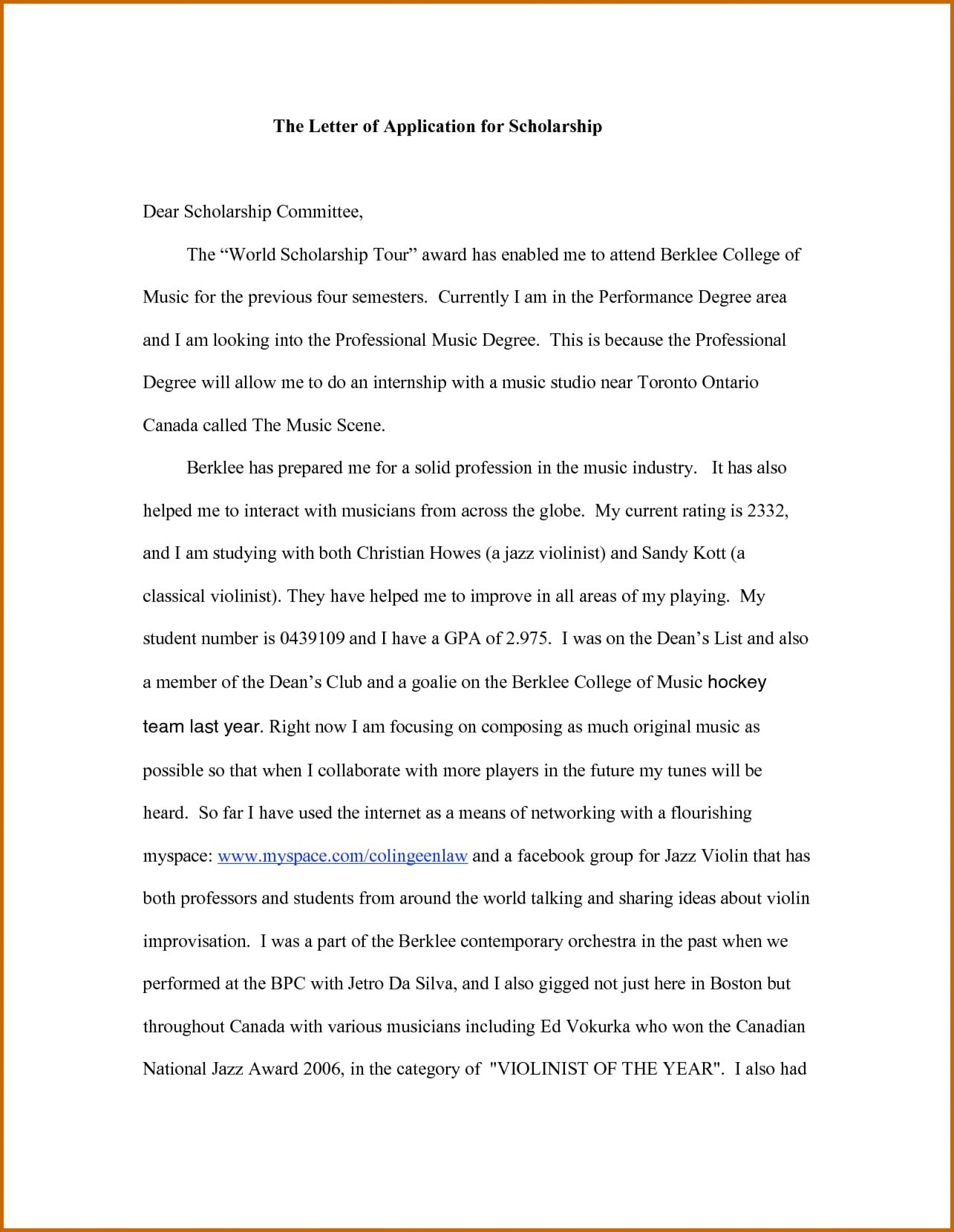 025 Essay Example Format Of Scholarship Selo Yogawithjo Co Introduction Sensational Sample College Essays For Writing 1920