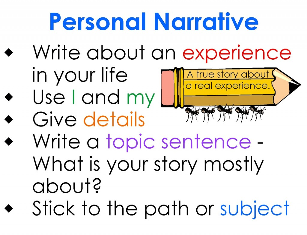 025 Essay Example Personal Definition Archaicawful Experience Narrative Meaning Large
