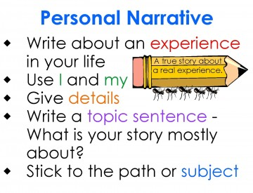 025 Essay Example Personal Definition Archaicawful Experience Narrative Meaning 360