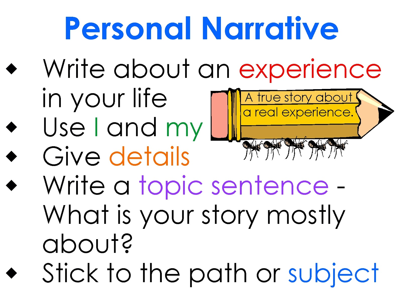 025 Essay Example Personal Definition Archaicawful Experience Narrative Meaning Full
