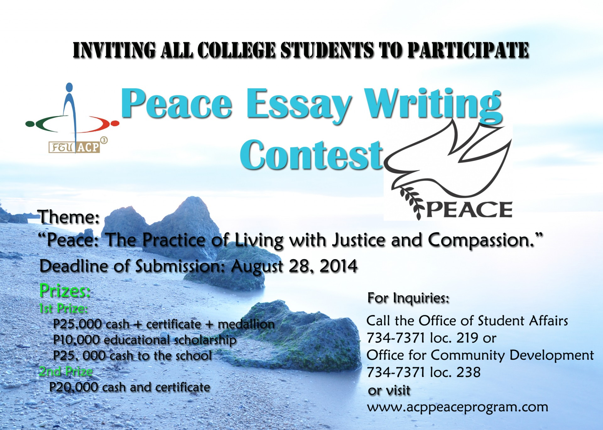 025 Essay Writing Contest Example Competitions For College Incredible Free Contests 2018 International High School Students India 1920