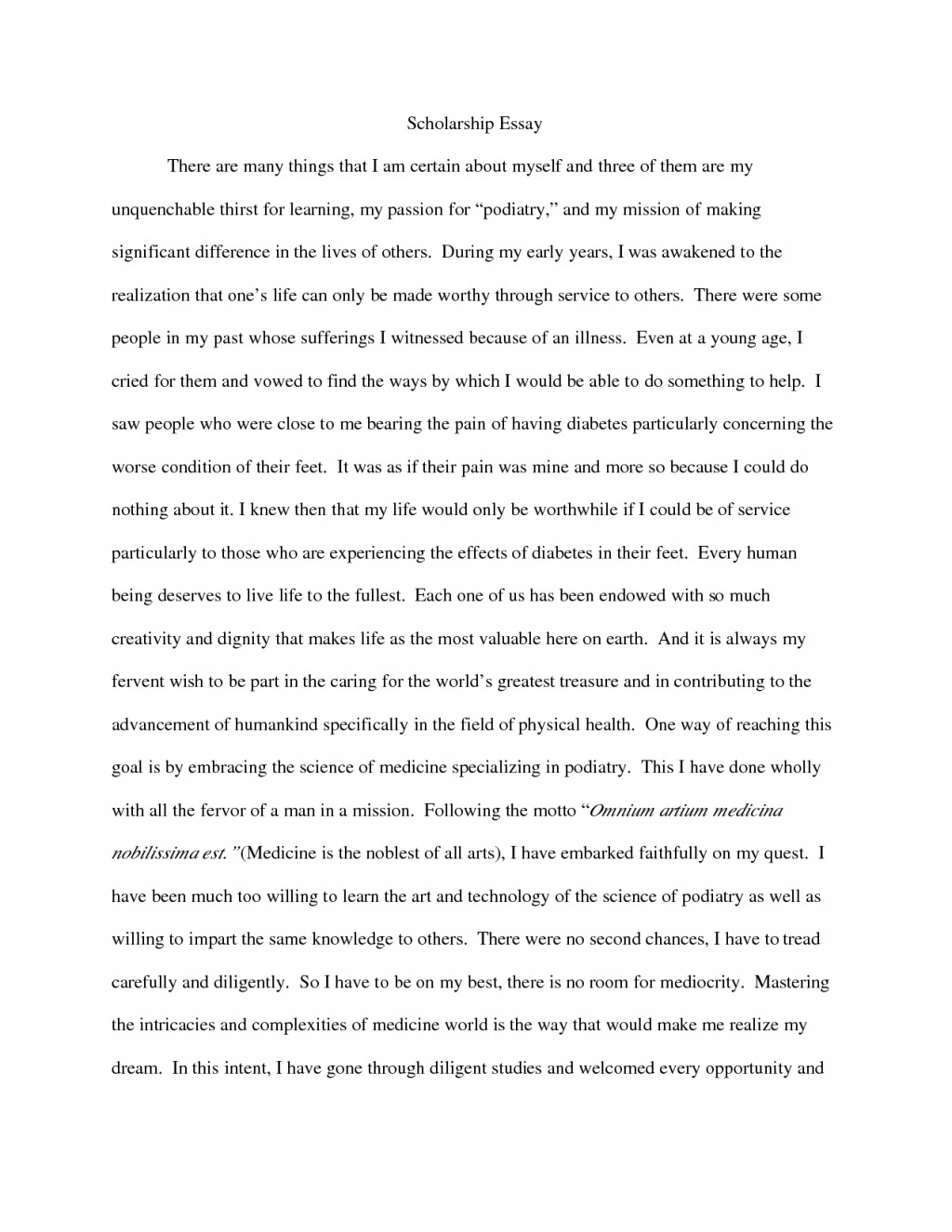 025 Example Of Scholarship Essay Stunning Template Structure Format Examples Guidelines Large