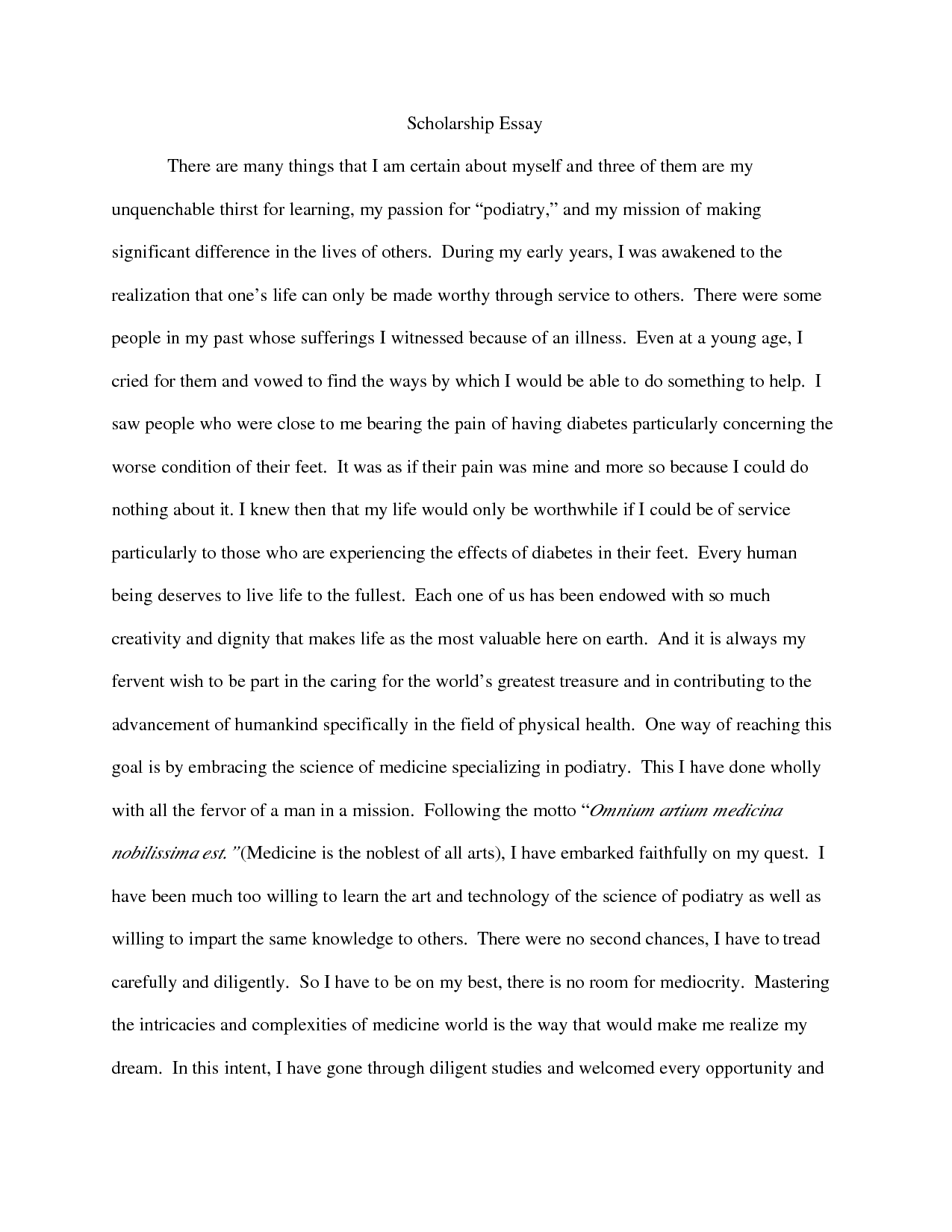 025 Example Of Scholarship Essay Stunning Template Structure Format Examples Guidelines Full