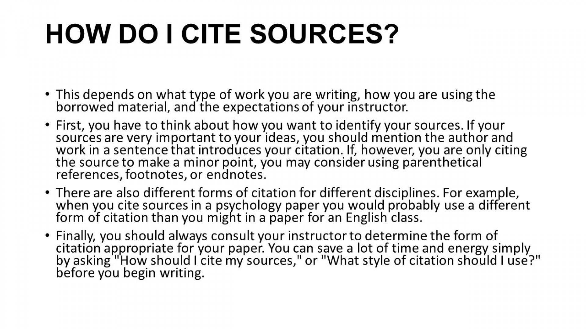 025 How To Cite Sources In An Essay Citations Do U Website Citing Write Bibliography Sl Secondary Apa References Mla Citation Surprising Using Style Example 1920
