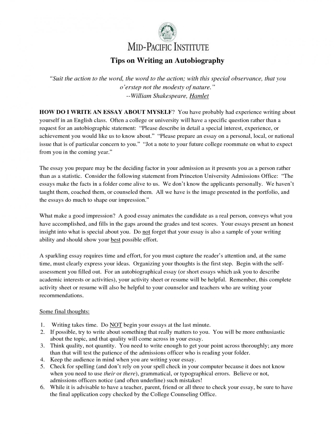 Need help with starting on my essay? | Yahoo Answers