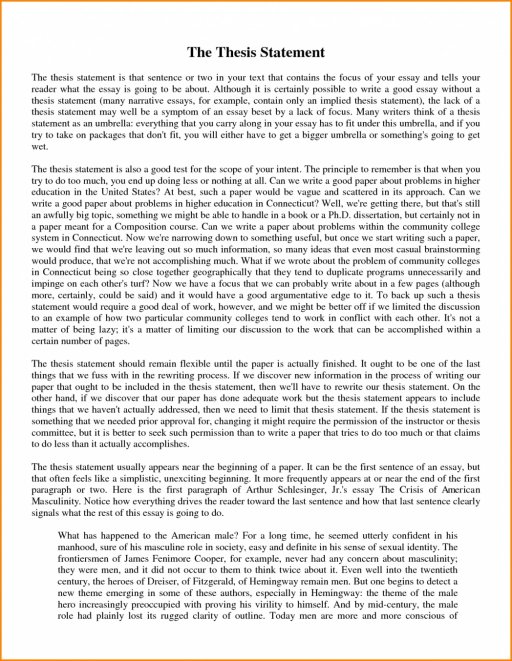 025 Narrative Essay Thesis Statements Art College For Essays Application Football High School Vs Good 1048x1354 What Is In An Fascinating A Statement The Purpose Of Argumentative Informative Large