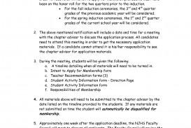 025 National Honor Society Application Essay Example Honors Examples Of Junior Sensational Service Scholarship