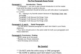025 Paragraph Essay Outline Template Formats 96536 Fearsome 5 Persuasive Free