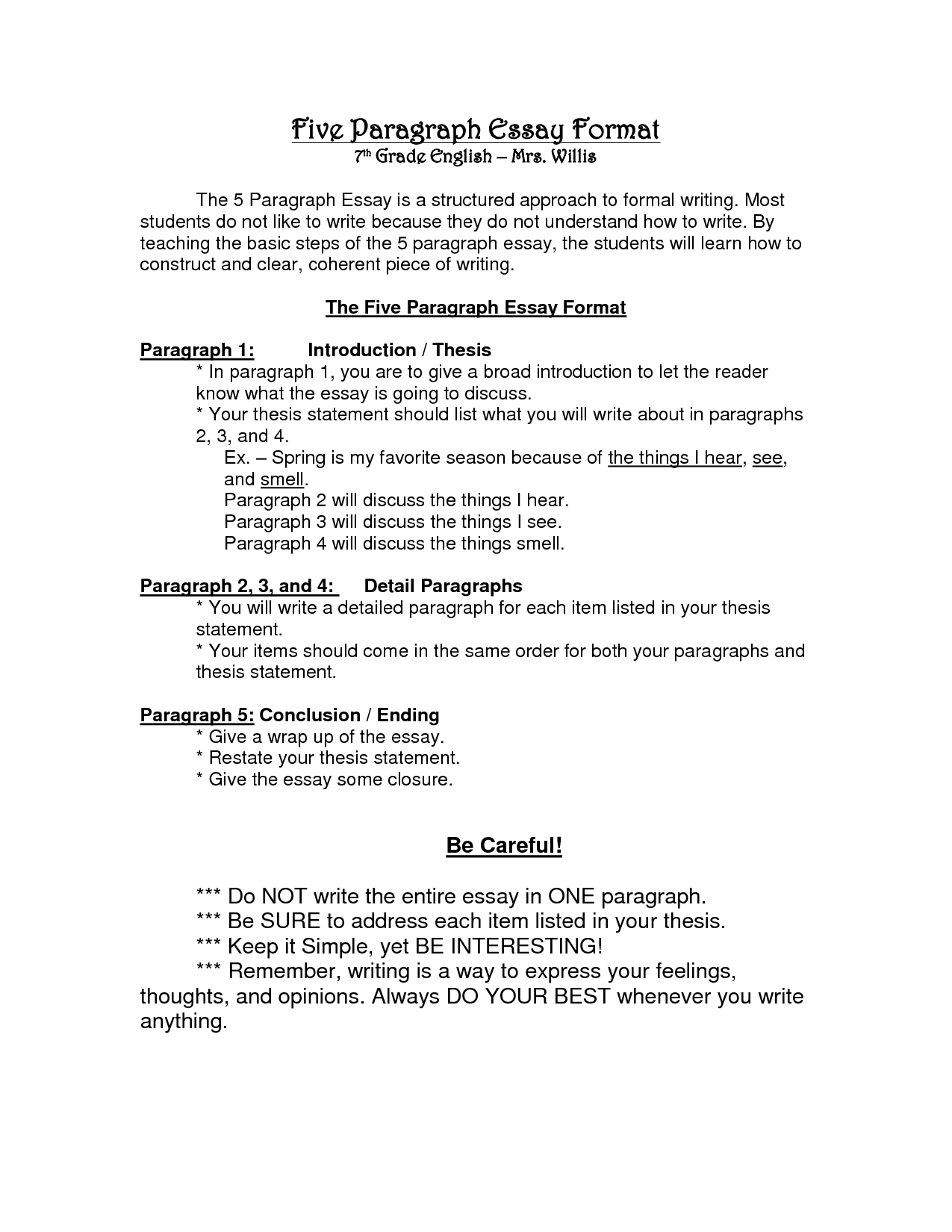 025 Paragraph Essay Outline Template Formats 96536 Fearsome 5 Persuasive Free Full
