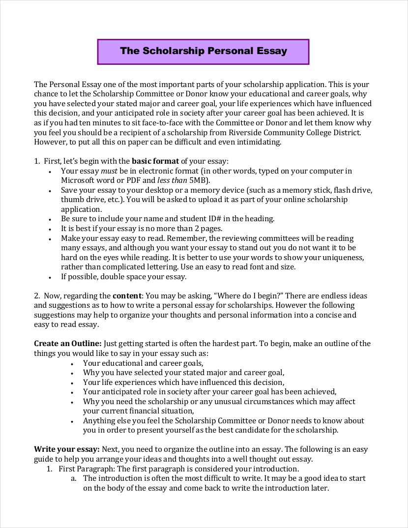 025 Scholarship Application Essay Example Examples Free Pdf Format Download Sample Personal Sa College Ideas Mba Nursing About Staggering Tips Full