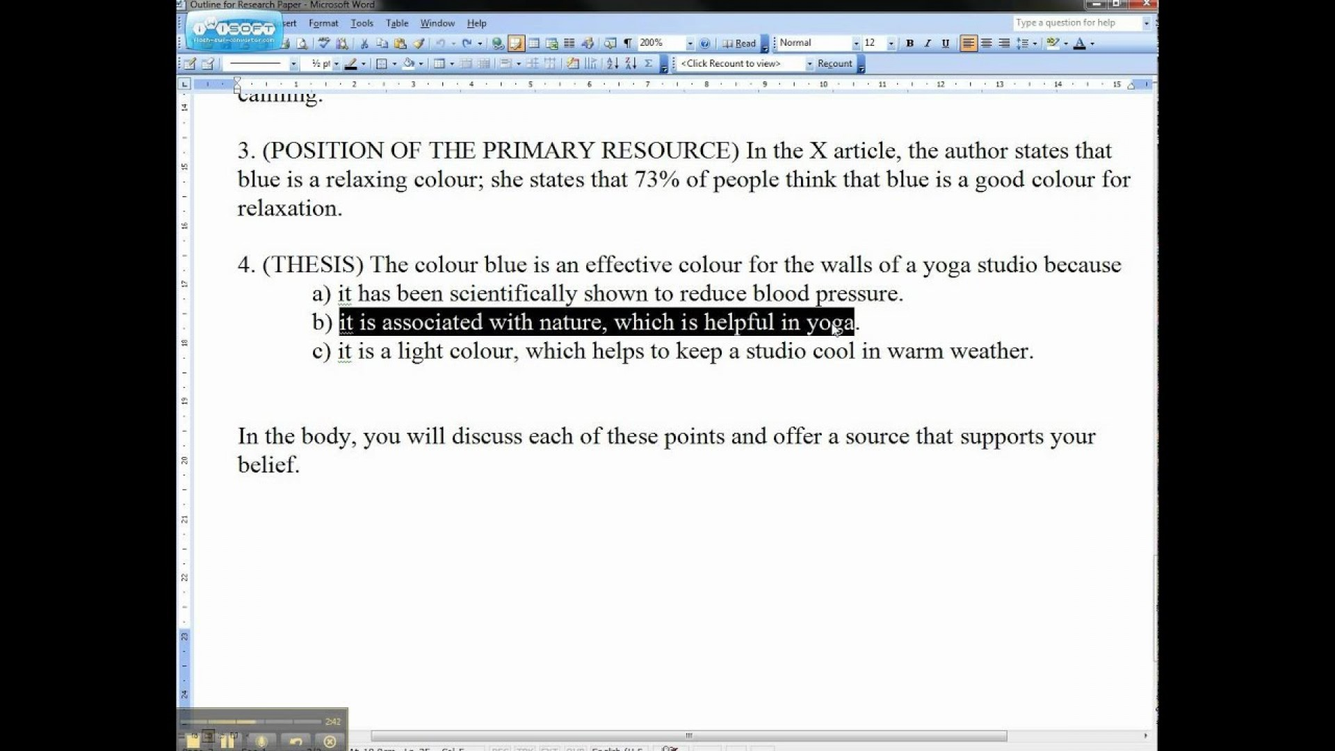 025 Thesis Statement Essay Maxresdefault Stirring Descriptive Examples Definition Structure 1920