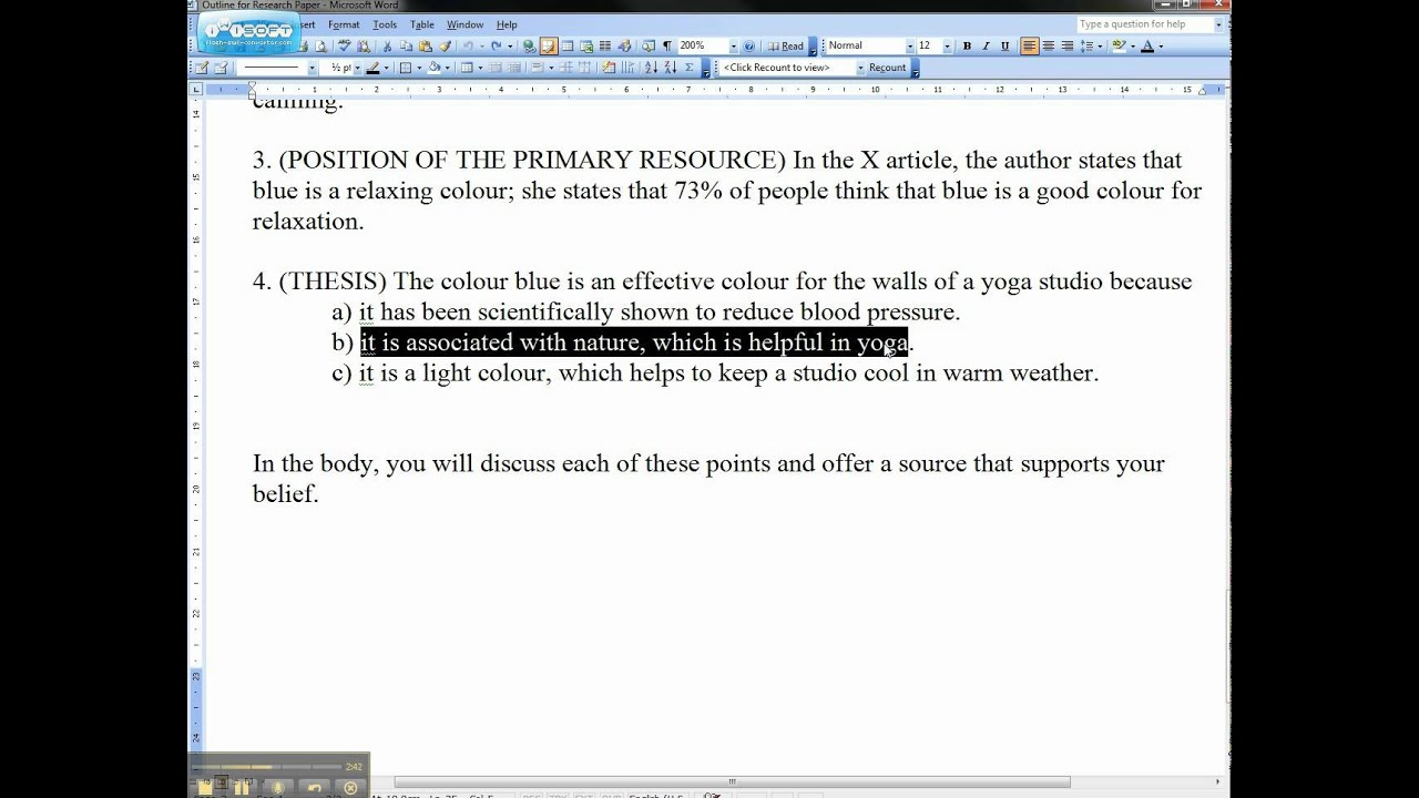 025 Thesis Statement Essay Maxresdefault Stirring Descriptive Examples Definition Structure Full