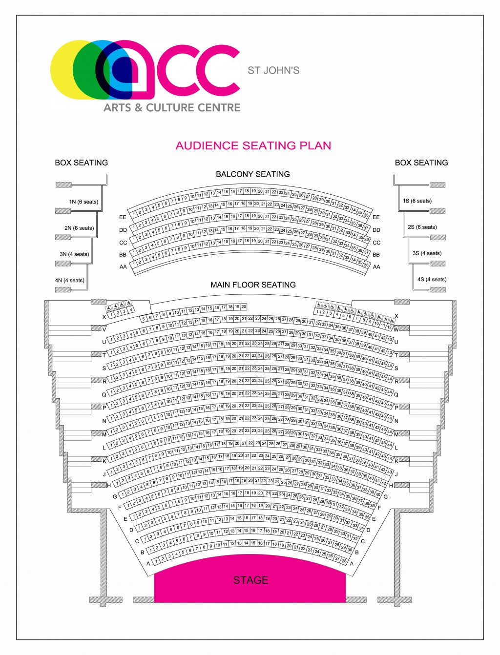 026 Acc St20johns Audience20seating20plan Jan2019 Essay Example Vcu Personal Remarkable Statement Large