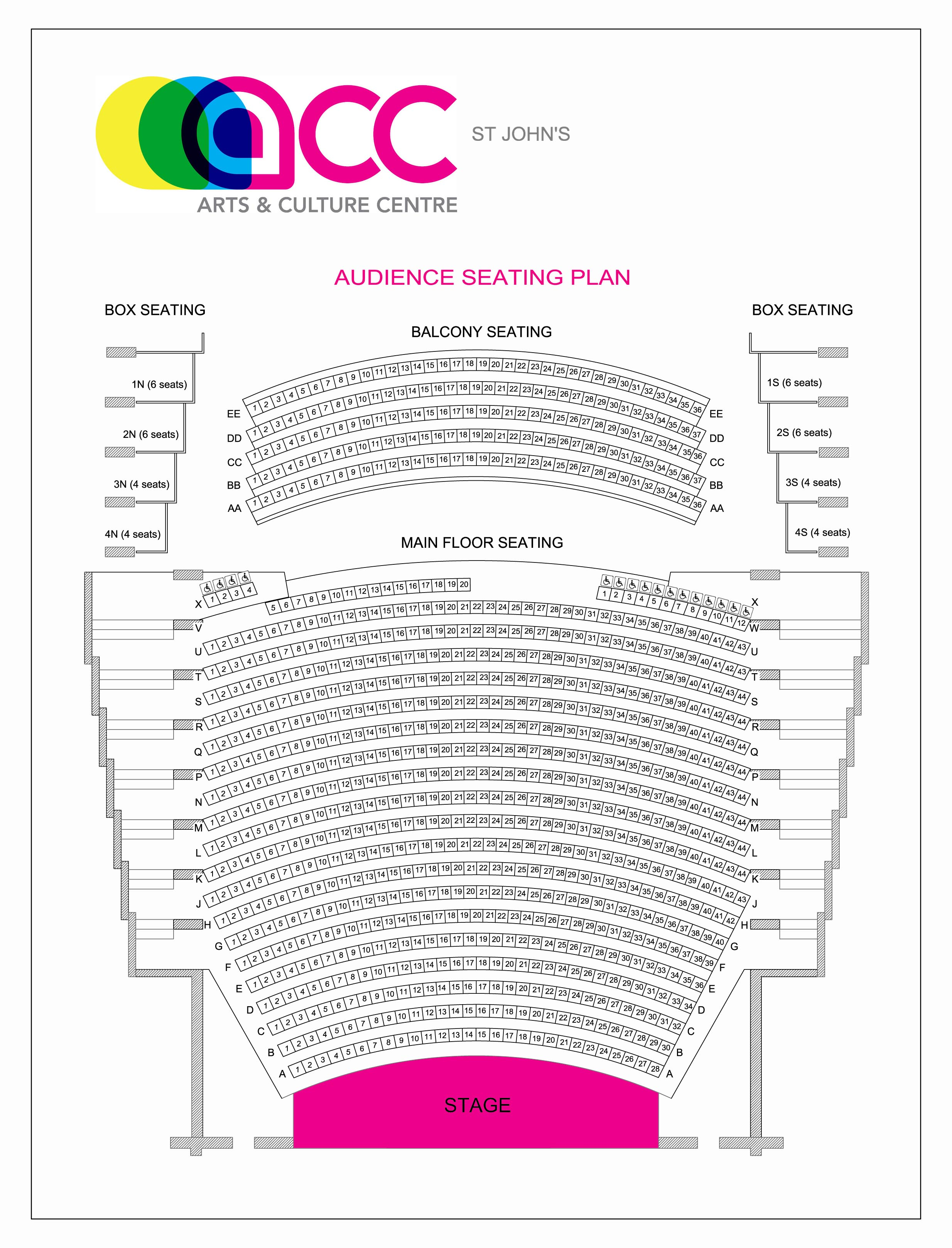 026 Acc St20johns Audience20seating20plan Jan2019 Essay Example Vcu Personal Remarkable Statement Full