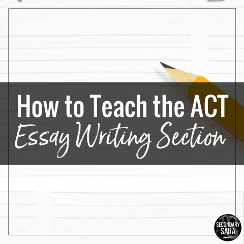 026 Act Essay Example Fearsome Topics Tips Time Limit 480