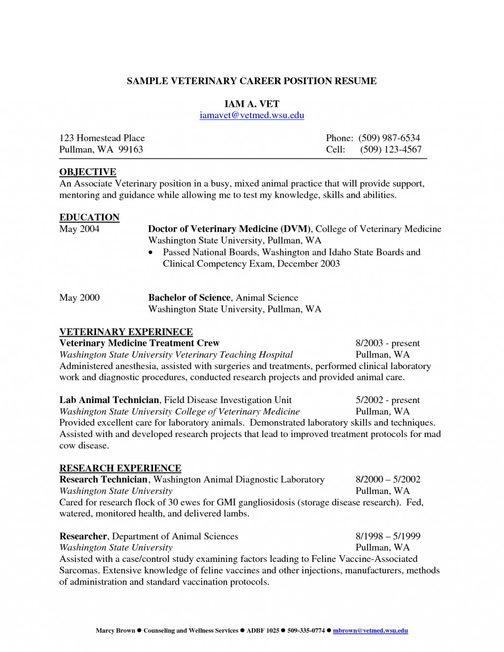 College admission essay on veterinary technician