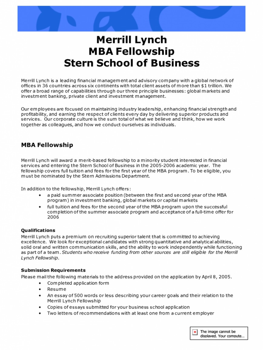 Mba thesis papers