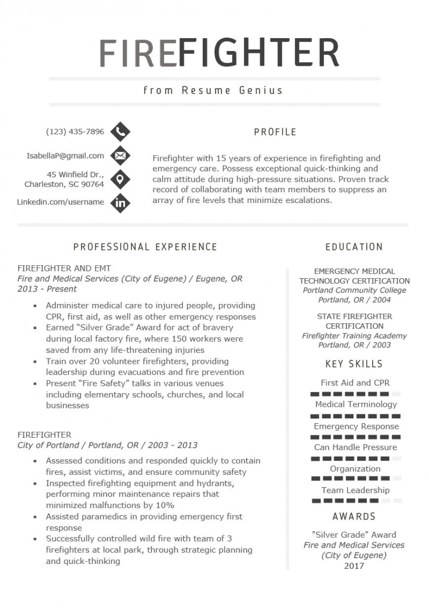026 Essay Example Firefighter Resume Template Writing An Argumentative About Fire Shocking Prevention Pre-test Active Answers