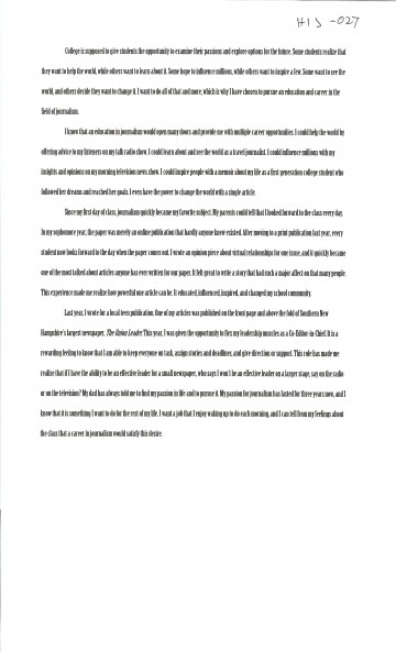 026 Essay Example First Day College Magnificent At Quotations My Pdf 360