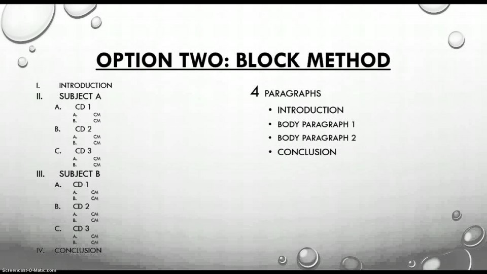 026 Essay Example How To Write Compare And Contrast Outstanding A Block Format Thesis Introduction Paragraph 960
