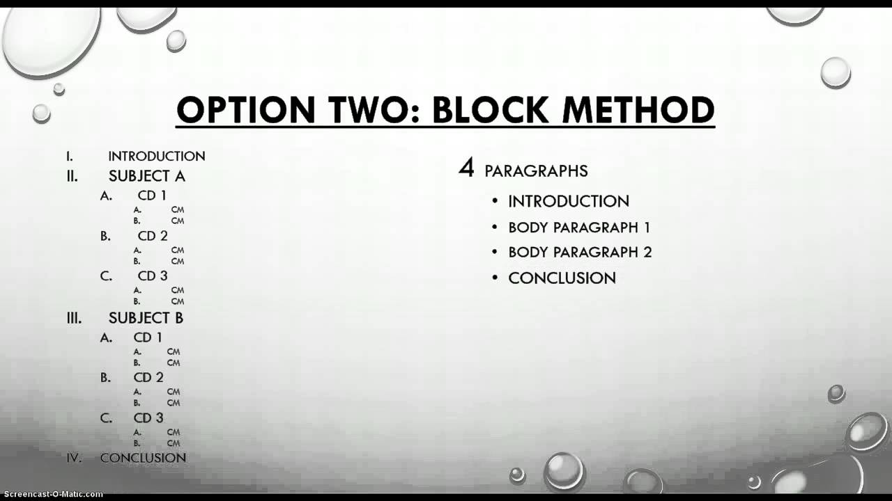 026 Essay Example How To Write Compare And Contrast Outstanding A Block Format Thesis Introduction Paragraph Full
