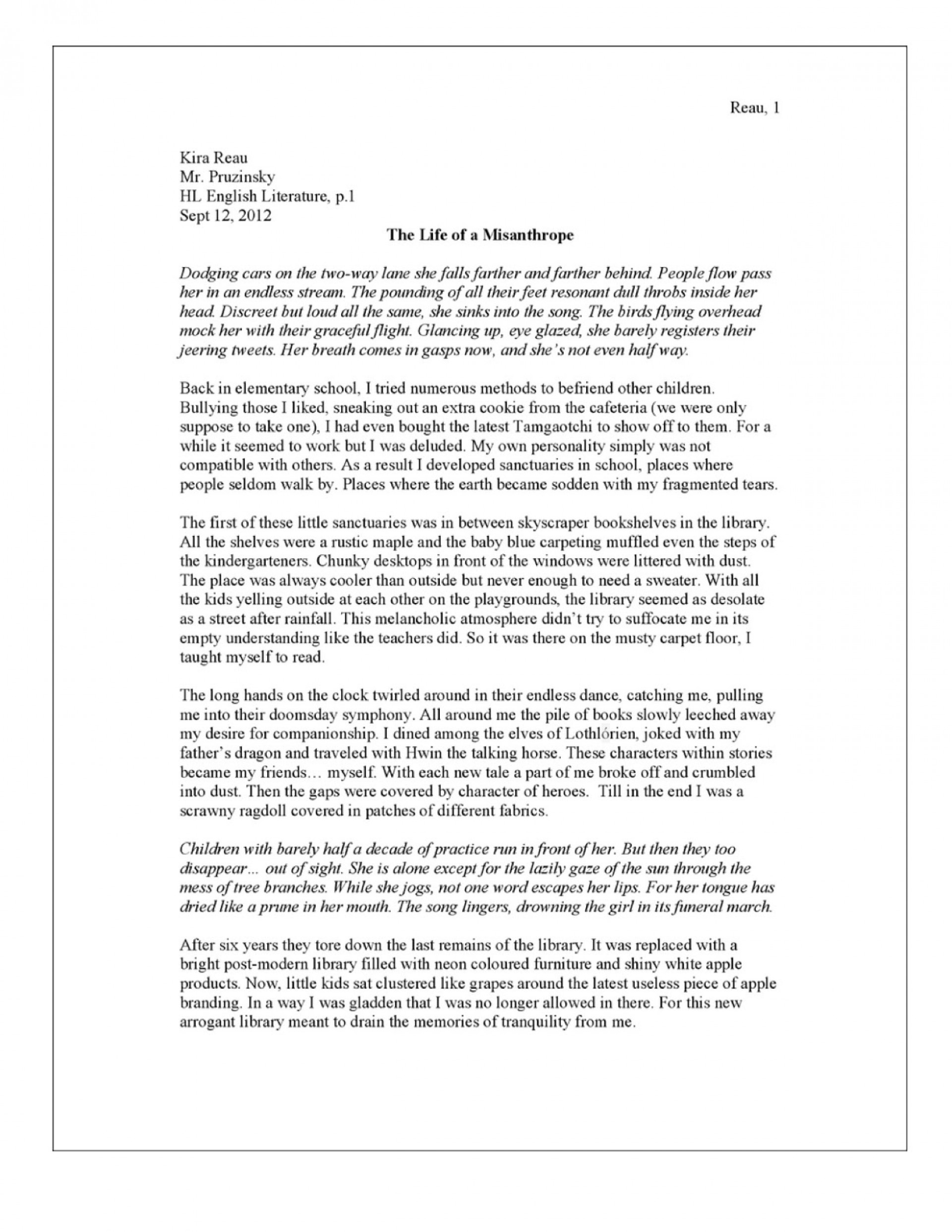 Essay about hungary