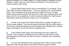 026 Essay Example P1 Singular Health Topics For High School Students Titles Writing In Telugu