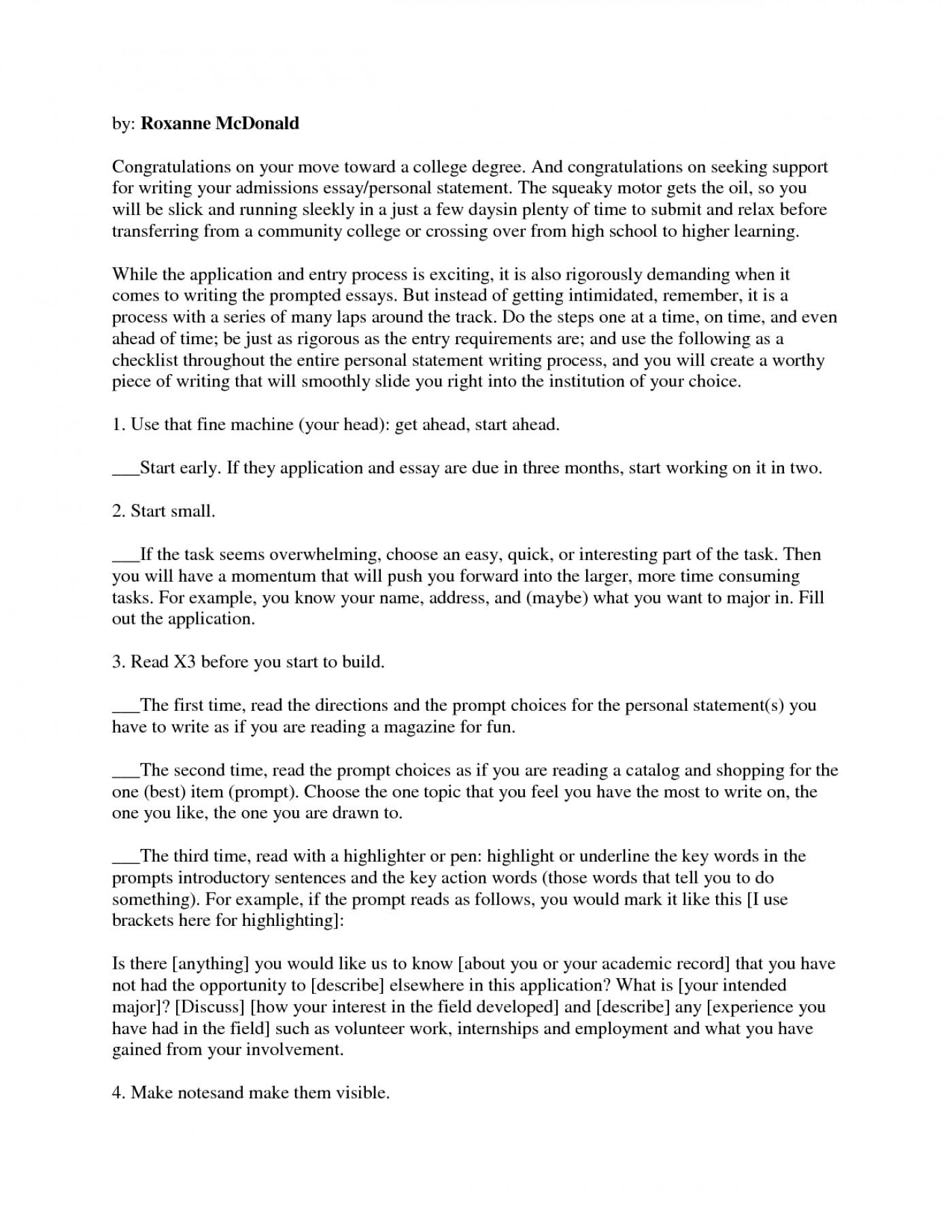 Sample rogerian essay