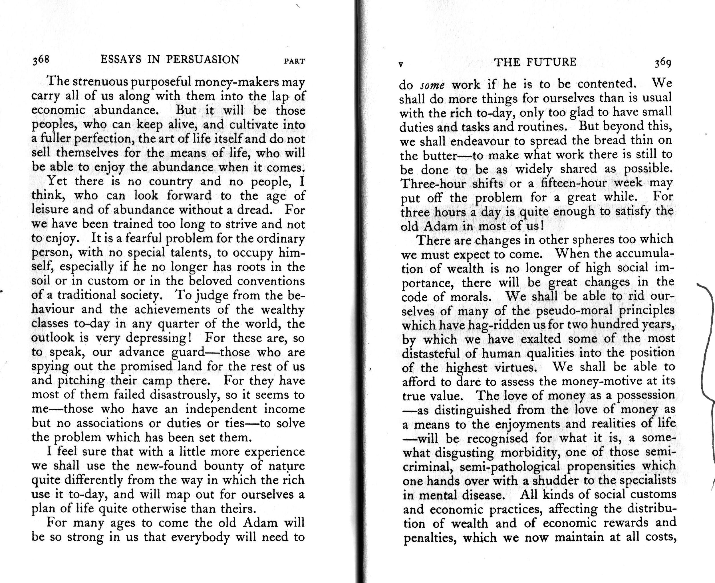026 Essays In Persuasion Essay Remarkable Audiobook Pdf John Maynard Keynes Summary Full