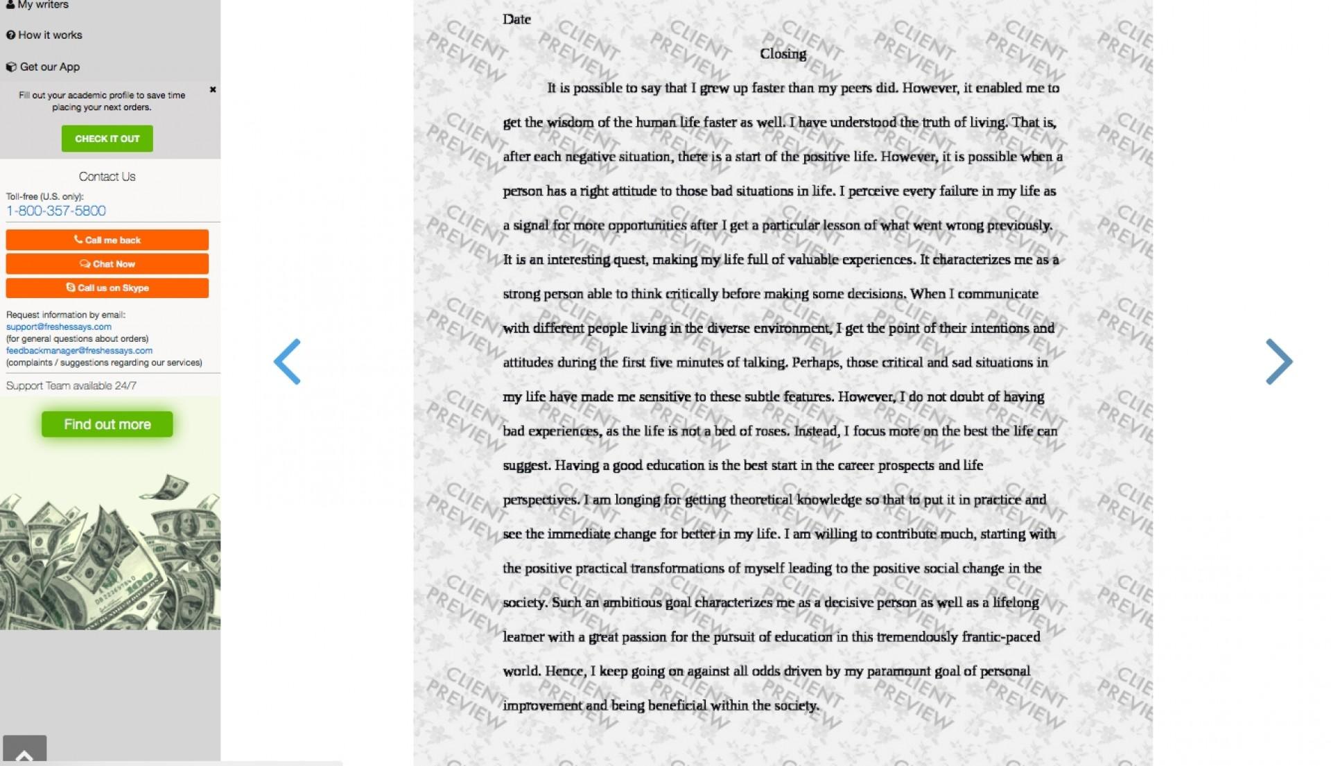 026 Fresh Essays Essay Example Picture 65064 Wondrous Contact Uk 1920