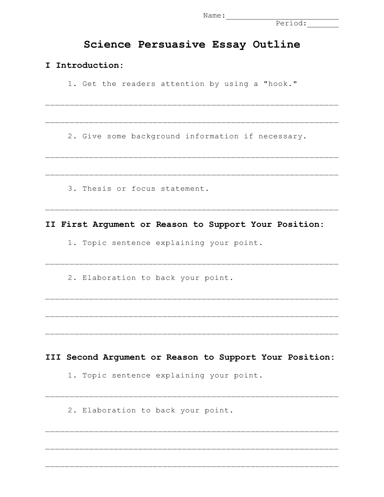 026 Persuasive Essay Outline Example Template High Top Apa Format Word 2010 Full