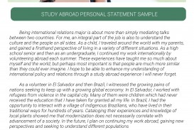 026 Study Abroad Personal Statement Sample Studying Essay Beautiful Ielts Conclusion Pdf 320