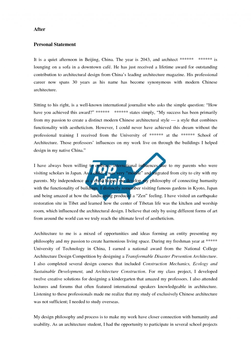 026 Zwjgmmd Common App Examples Best Example Essays Essay Samples Option 1 Prompt 2016 2017 Large