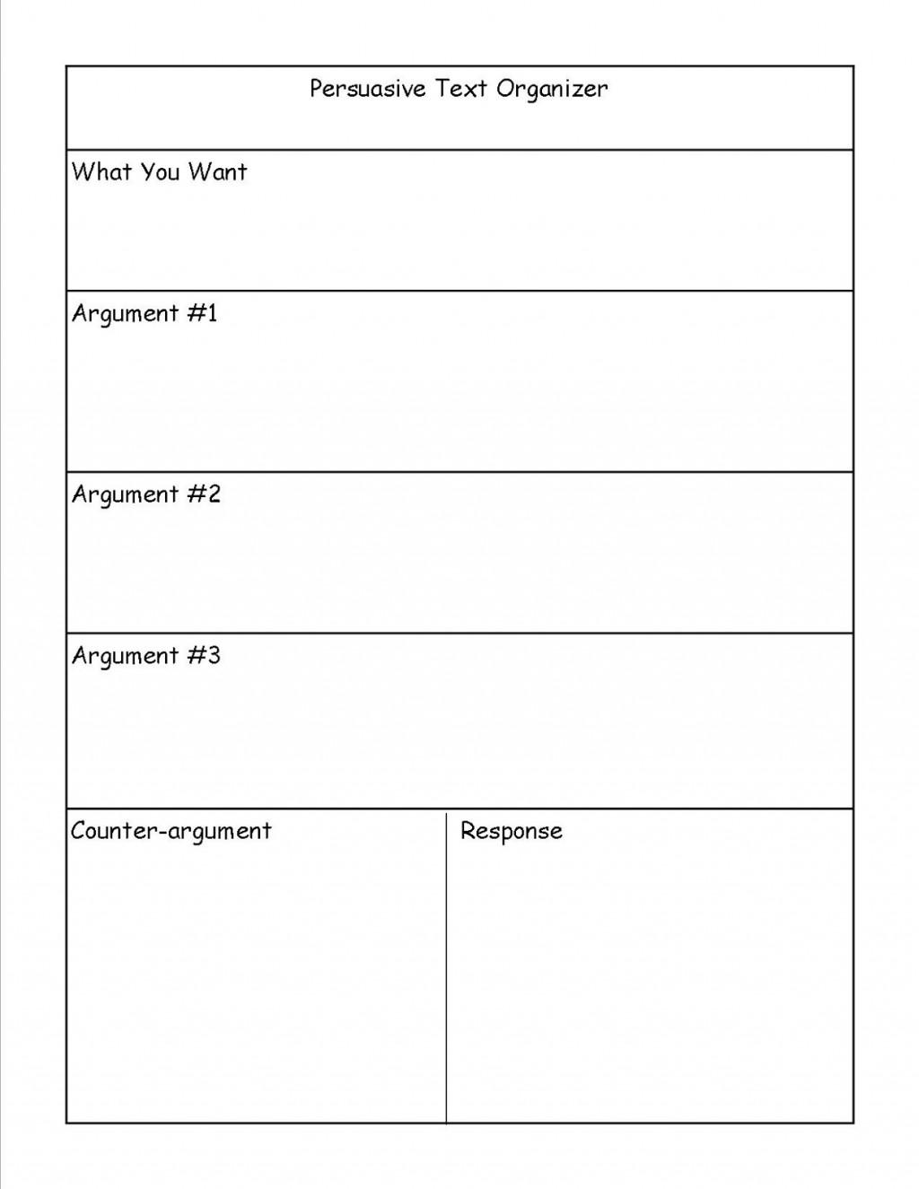 027 College Essay Organizer Example Surprising Application Graphic Organizers Argumentative Large