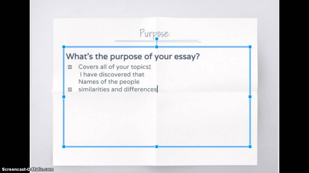 027 Essay Example Compare And Contrast Structure Stupendous Ppt Format Outline Large