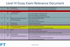 027 Essay Example Level Tips Stirring Cfa 3 Sample Questions Examples