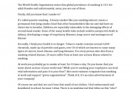 027 Essay Example On Respiratory Diseases Fascinating