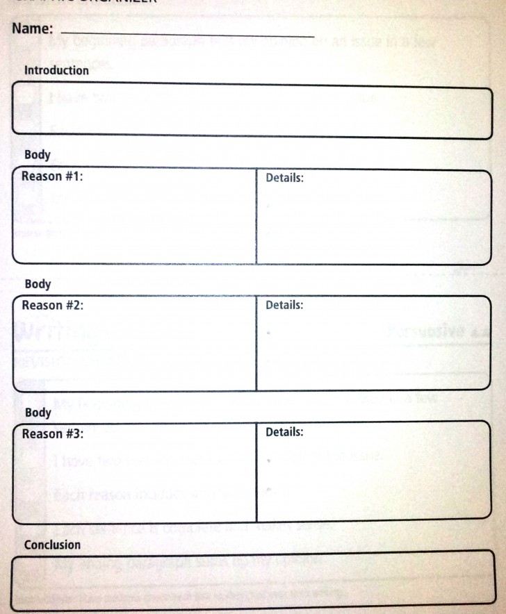 027 Essay Example Paragraph Outline Persuasive Graphic Organizer Complex Amazing 5 Five Pdf Template Printable Topics 5th Grade 728