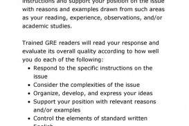 027 Essay Example Sample Gre Test Papers With Solutions Unusual Issue 6 Prompts Ets