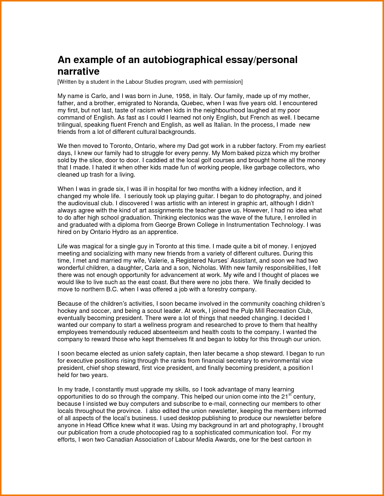 027 Essay Example Writer Free Of Narrative About Family Printable Writing Amazing App Generator Software Download Full