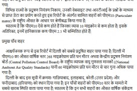 027 Essay On Air Pollution In Hindi Cause And Effect Astounding Environmental Example Of About 320