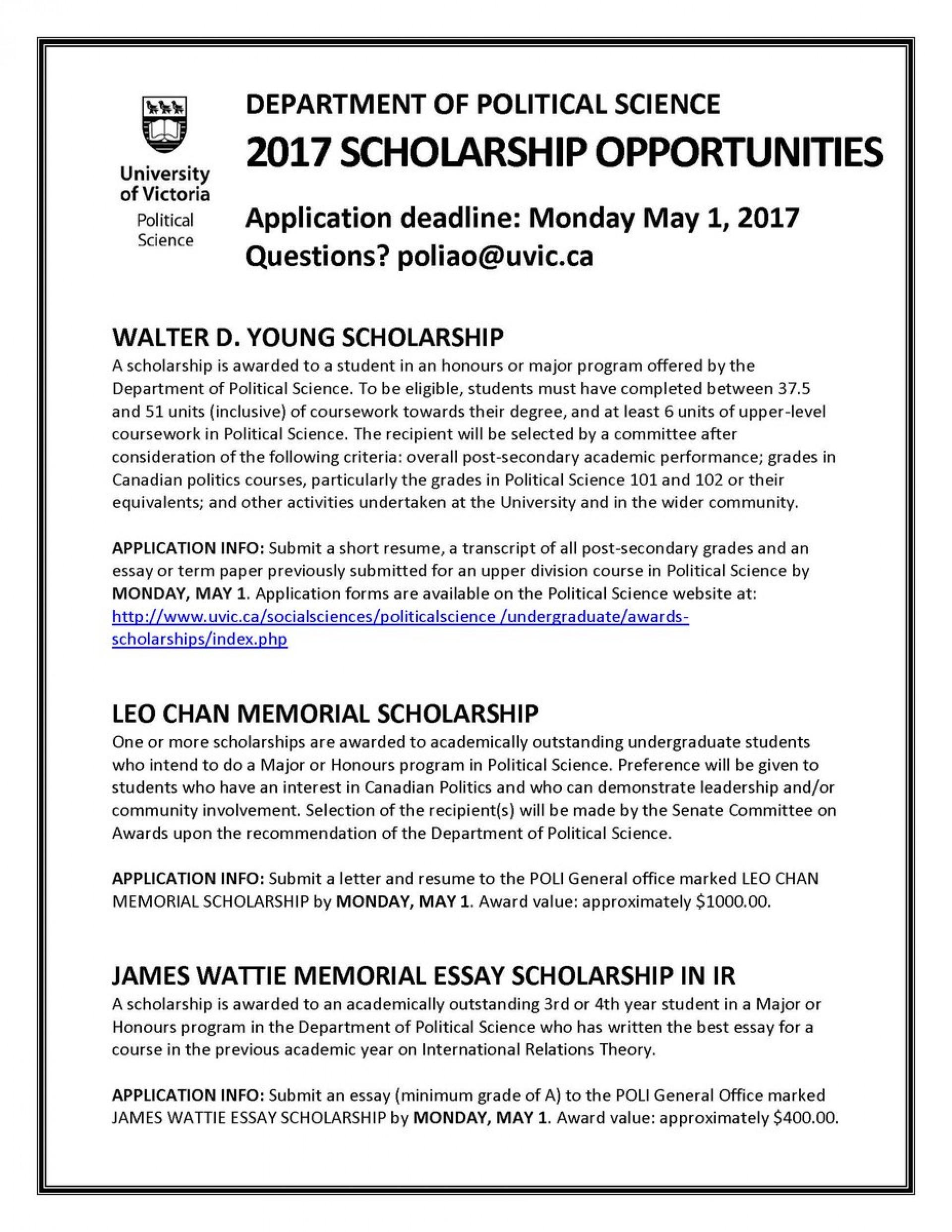 027 Essay Scholarships C943axuuiaasrbu Wonderful 2017 No College Canada 1920