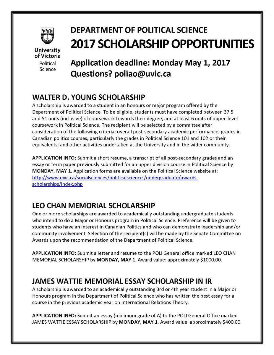 027 Essay Scholarships C943axuuiaasrbu Wonderful 2017 No College Canada Full